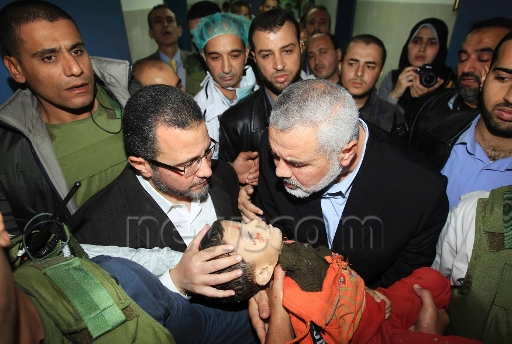 Guardian claims Hamas scored political points from photo of Egypt PM cradling dead baby