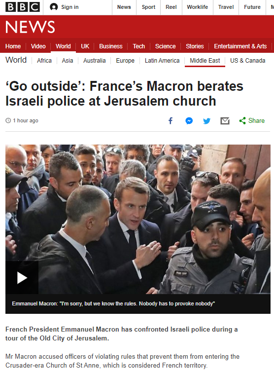 BBC News promotes partisan political narrative on Old City