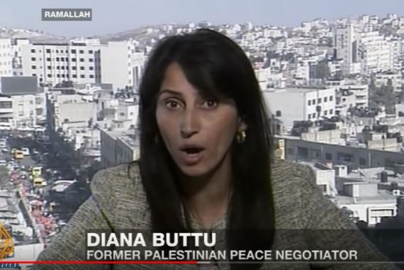 Diana Buttu (accidentally) gets one thing right about US peace plan >  CAMERA UK