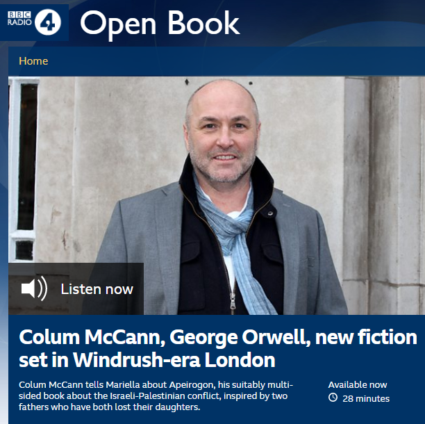 BBC Radio 4's promotion of an 'epic novel' and an appealing narrative