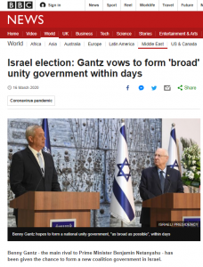 BBC News continues to avoid the issue of Joint Arab List politics